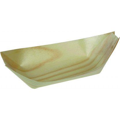 Bilde av båt i trespon - Resirkulerbare produkter - Nebrytbare - www.engangs.no - Miljøvennlig engangstallerken og bestikk